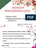 sindrom mielodisplasia