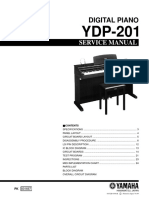 Yamaha Ydp-201 Digital Piano Sm