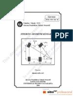 Modul Mekanika Gerak Kendaraan OTO226-01