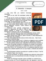 Texto D. Sebastião