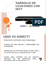 Desarrollo de Aplicaciones Con Kinect