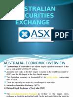 Finall Australian Securities Exchange