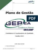 [Gepea] [Edital Coordenadoria] [QLD] Plano de Gestão_Emily Zucatti