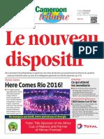 Cameroon Tribune Du05 Apout 2016