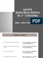 Gastos Deducibles Unv.garcilaso