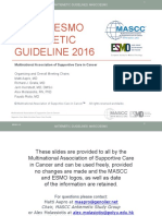 Mascc Antiemetic Guidelines English 2016 v.1.2