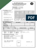 Form Pendaftaran Maba