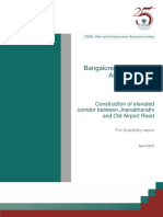 BDA CRISIL Elevated Corridor Pre Feasibility Report