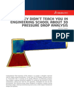 3d Pressure Drop Analysis White Paper