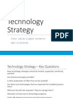 Technology Strategy- Print Out