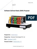 C700 as Software Defined Radio Proposal for STPL Hyderabad