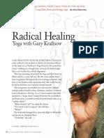 Article By Gary Kraftsow Radical healing