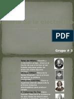 Historia de La Electricidad FINAL