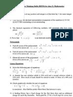 hotsforclass X math.pdf