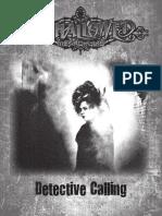 Unhallowed Metropolis Detective Calling