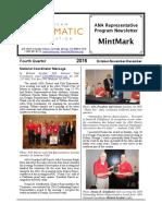 2016 Fourth Quarter MintMark