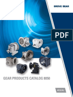 Grove Gear Products Catalog 8050