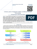 A Survey and a Comparative Study on Software-Defined Networking