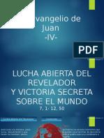 Eduardo Suanzes - Teología del Evangelio de Juan - 4 Lucha Abierta Del Revelador