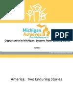 Opportunity in Michigan