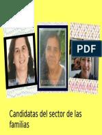 Candidatas al Consejo Escolar.