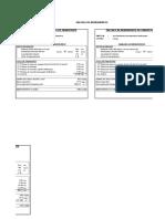 Calculo de Rendimientos y Costos Unitarios Especiales