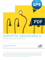Disruptive Innovations IV