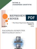 Aps 2015 - Kuliah 2 Representasi Biner