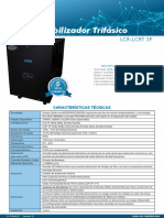 D-COME-07_Estabilizador LCR3F de 10 a 80KVA_Ieda PowerSafe