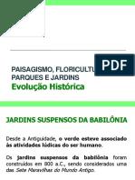 Evolucao Historica Do Paisagismo - Aula 02