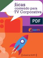 [eBook]+10+Dicas+de+Conteúdo+para+TV+Corporativa