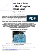 Honduras Rally Flyer
