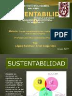 Sustentabilidad 5o Sem. ARIEL