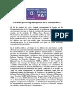 Manifiesto Despatologizacion Trans Oviedo 2012 20 de Octubre (3)