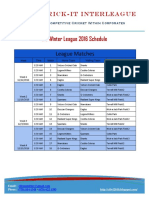 CIL WL 2016_Schedule