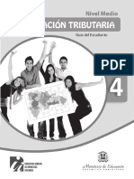 Guía Del Estudiante. 4to Nivel Medio
