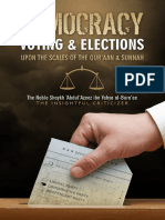 Democracy Voting Elections Upon the Scales of Quraan and Sunnah