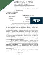 Carta 01- Solicito Copias de Actas de Sesion de Concejo