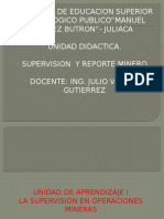 Reporte Minero Separata