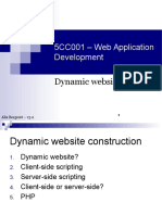 01 - Dynamic Websites