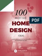 100 Home Design Ideas
