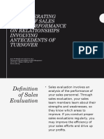 advr. and personal selling