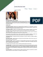 Cronología Caso Valentina Rosendo Cantú