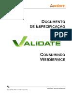 Documento Tecnico Web Service Validate