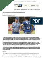 'Seca' Do Artilheiro_ Ábila Tenta Retomar Fase Goleadora No Cruzeiro Na Reta Final Da Série a - Superesportes