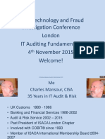 IT Auditing Fundamentals