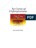 The Curse of Unforgiveness