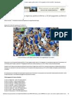 Pela Primeira Vez, Cruzeiro Registrou Público Inferior a 10 Mil Pagantes Na Série a de 2016 - Superesportes
