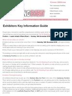 Leeds - Elland Road - Key Exhibitors Information Guide