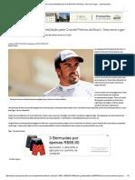 Fernando Alonso Revela Predileção Pelo Grande Prêmio Do Brasil_ 'Amo Esse Lugar' - Superesportes